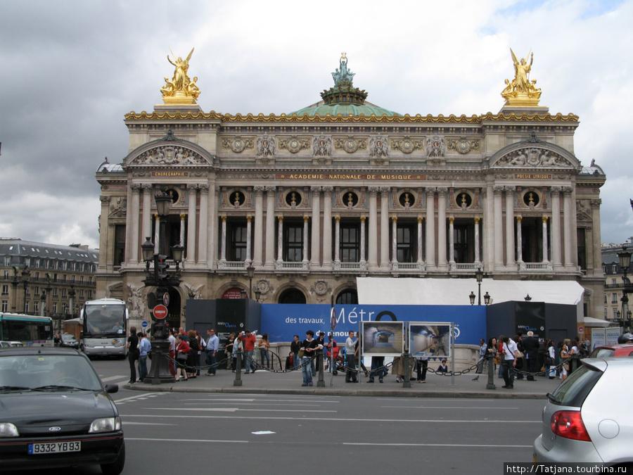 здание Оперы Гранье