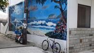 Разрисованный дом в Тасосе.