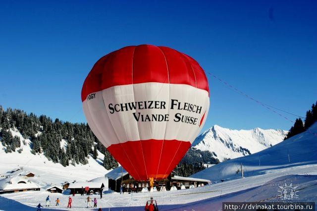 Даже мясные лавки могут позволить себе воздушный шар)))