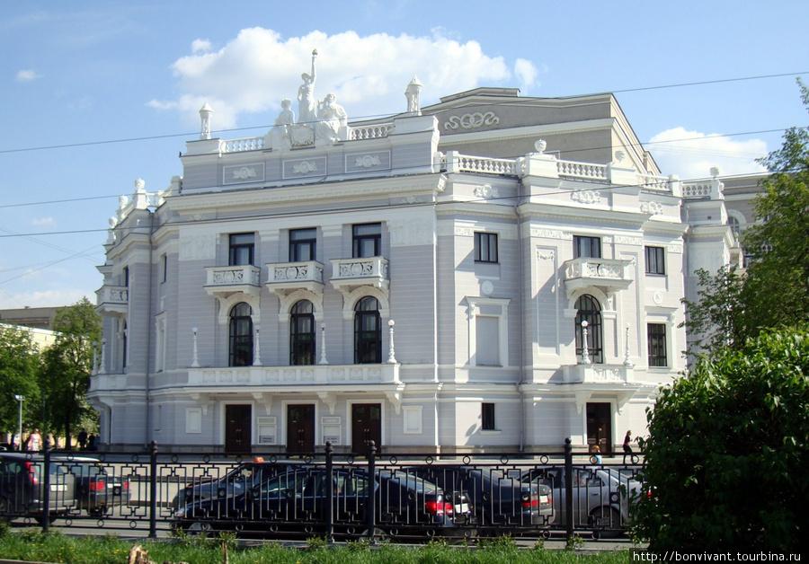 Театр оперы и балета http://www.uralopera.ru Ул. Ленина, 46а
