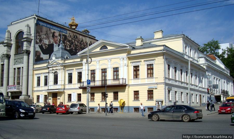 Учебный театр http://www.egti.ru/ ул. К. Либкнехта, 38