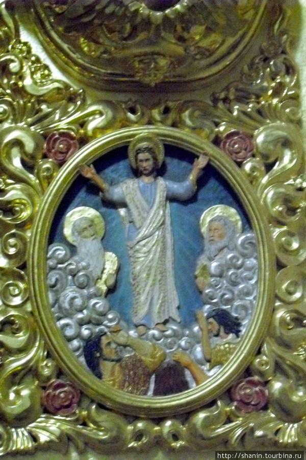 В церкви Святого Доминика в Оахаке Оахака, Мексика
