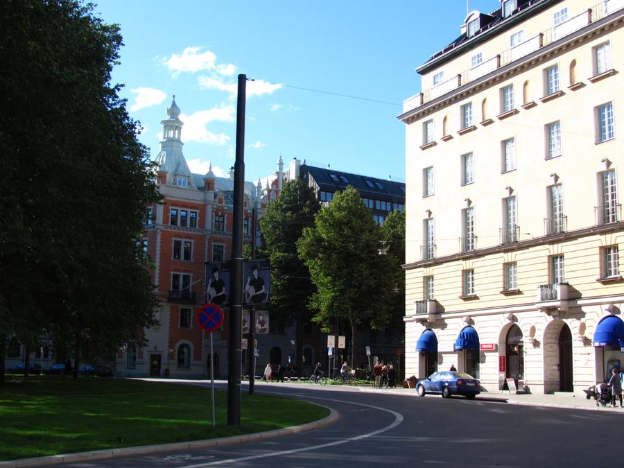 площадь Karlaplan