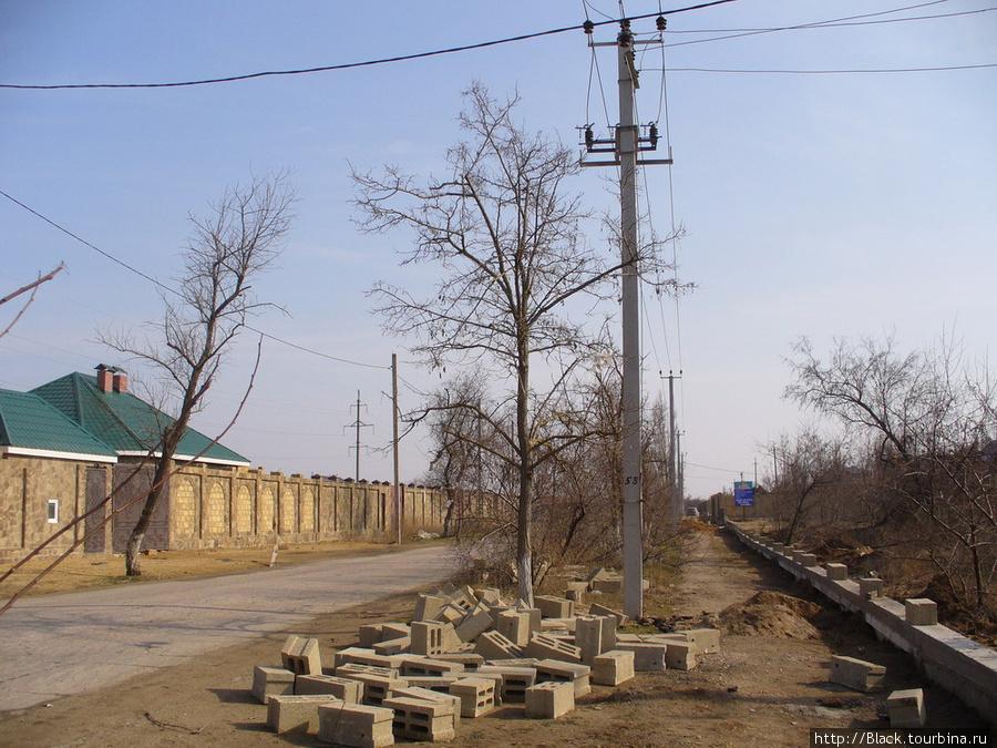 На улице Морской в марте 2011 года