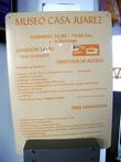 Вход в музей для иностранцев — 37 песо.
