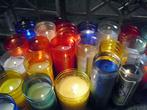 В кафедральном соборе Оахаки много свечей