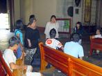 В кафедральном соборе Оахаки собрание прихожан