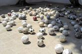 Инсталяция в музее современного искусства в Оахаке