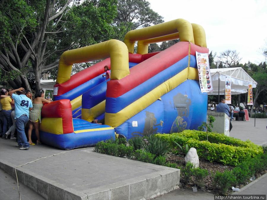 Игровая площадка для детей Оахака, Мексика