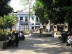 Площадь перед кафедральным собором в Оахаке
