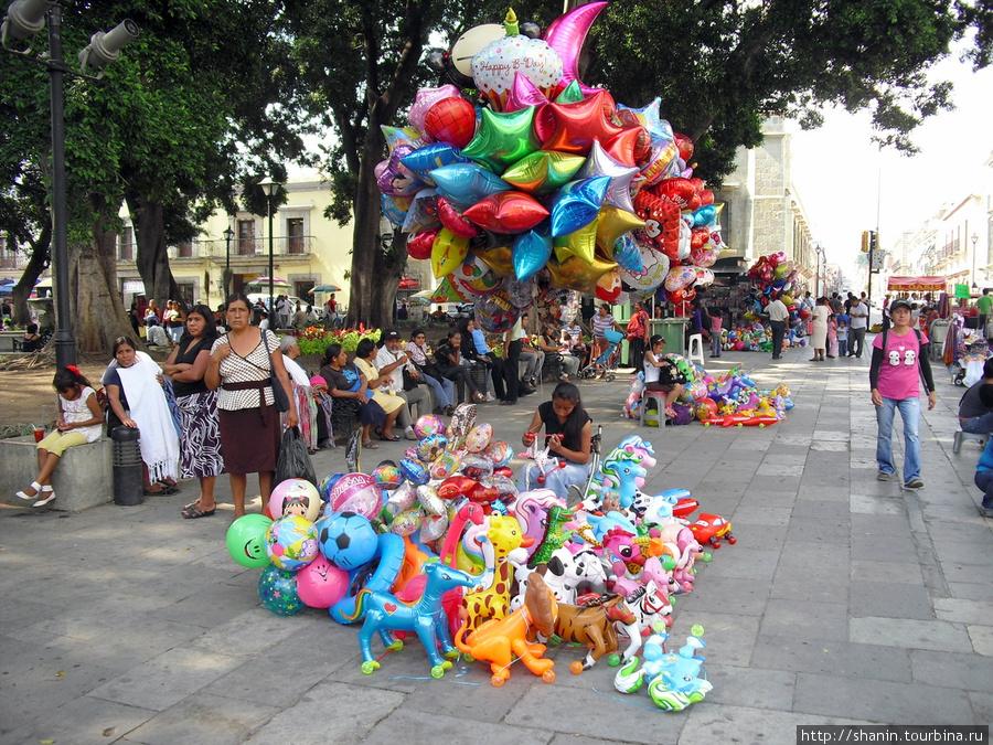 Торговцы шариками Оахака, Мексика