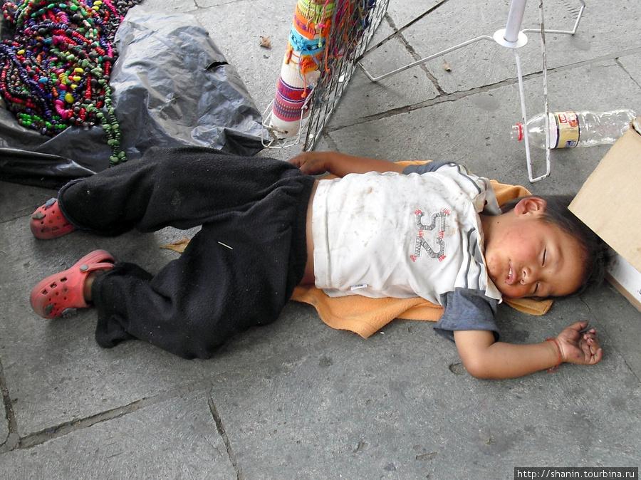 Утомился Оахака, Мексика