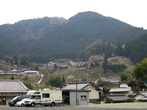 При подъезде к деревне Murō