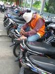 Много и мотоциклистов
