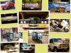 вот на таких машинах передвигается местное население. Что удивило очень много Land Cruiser и вот в низу фотографии стоит наш УАЗ на продажу)