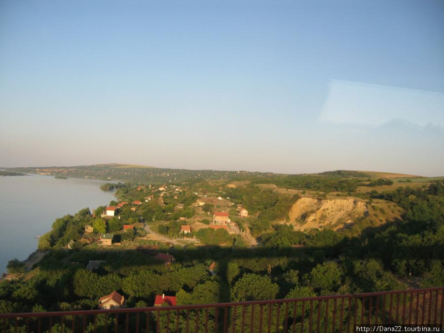 Первые виды Сербии из окна автобуса