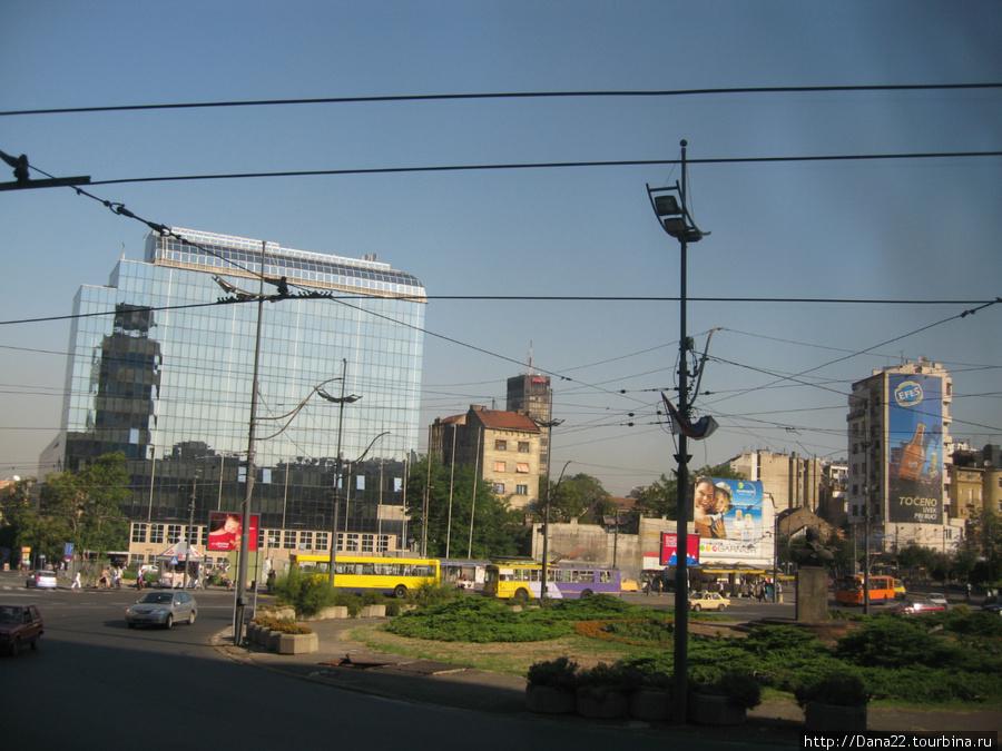 Одна из многих площадей Белшрада