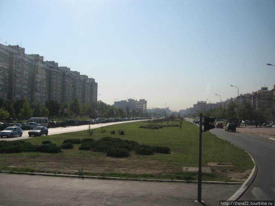 В целом современный Белград выглядит примерно так