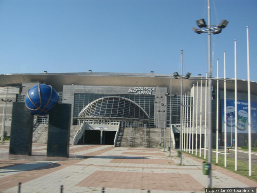 Здесь проводилось Евровидение-2008
