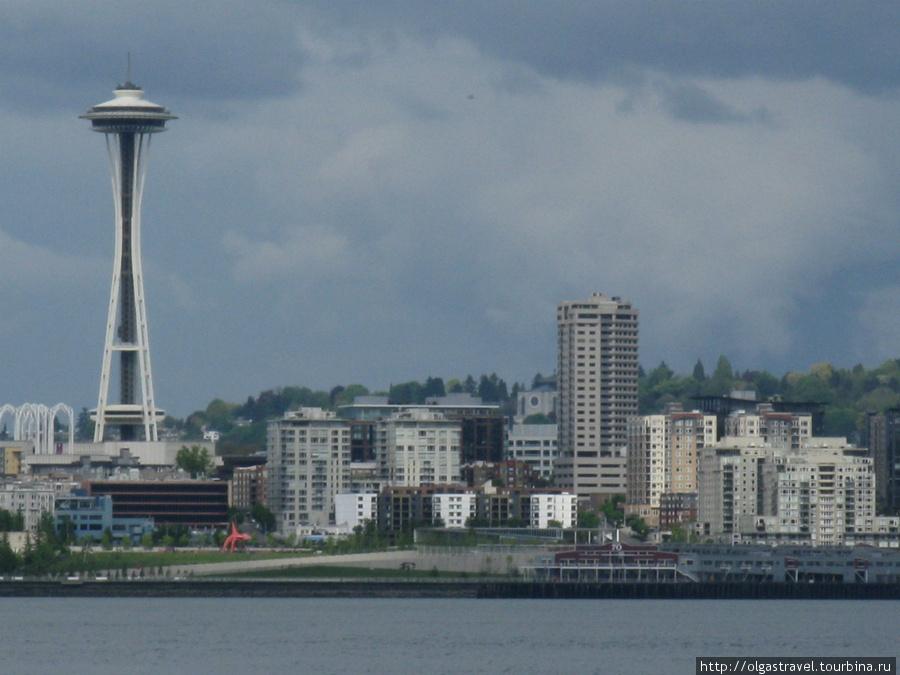 Сиэттл и Космическая Игла — символ города.