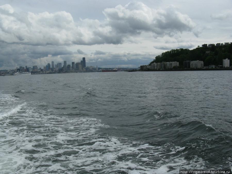 Сиэттл и пляж Алкай.