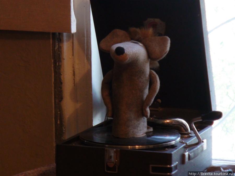 Валенок-мышь