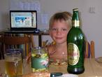Мой внук Федя в гостях у нас летом 2010 года.
