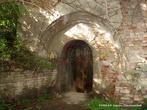 Вход в подземелье замка.