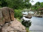 Парк был заложен в 1782 году в стиле английских ландшафтный парков. Он не имеет строгих симметричных композиций.