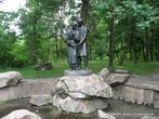 Скульптурная композиция-фонтан