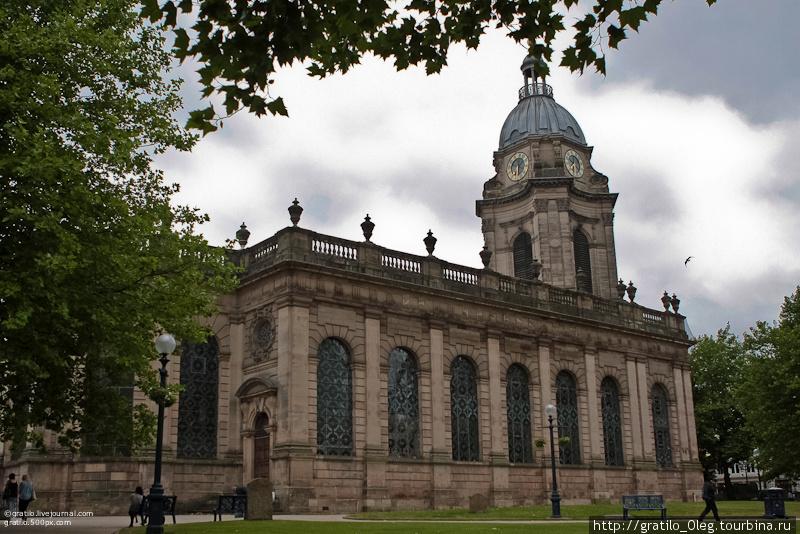 Кафедральный англиканский собор св.Филиппа, 1715-1720г. постройки