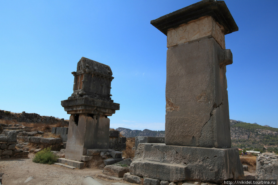 Ксантос гробницы
