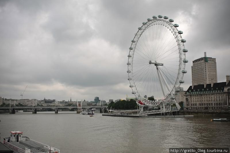 Погода в Лондоне может меняться несколько раз в день. На London Eye лучше кататься, когда светит яркое солнце.