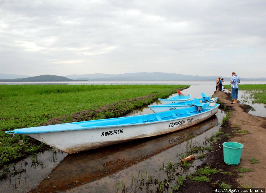 Озеро Найваша, до него ка