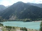 вид на озеро со смотровой площадки