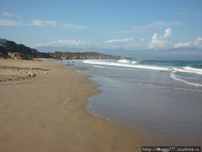 В целом вид пляжей  довольно