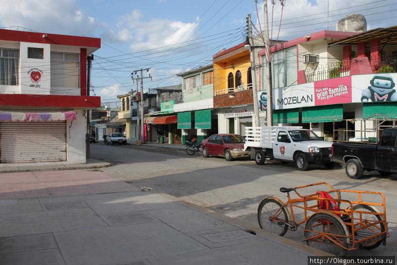 Цветные дома Эскарсеги Эскарсега, Мексика