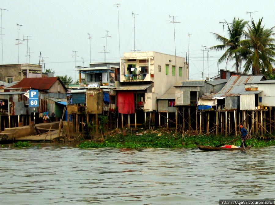 А вот и город Тяудок с его трущобами