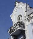 Кованные балкончики — не редкость