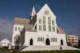 Кафедральный собор называют самым высоким деревянным сооружением в мире.