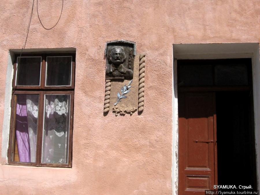 Фрагмент дома на ул. Гоголя.