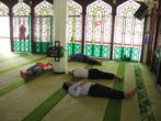 Внутри Городской Мечети днём