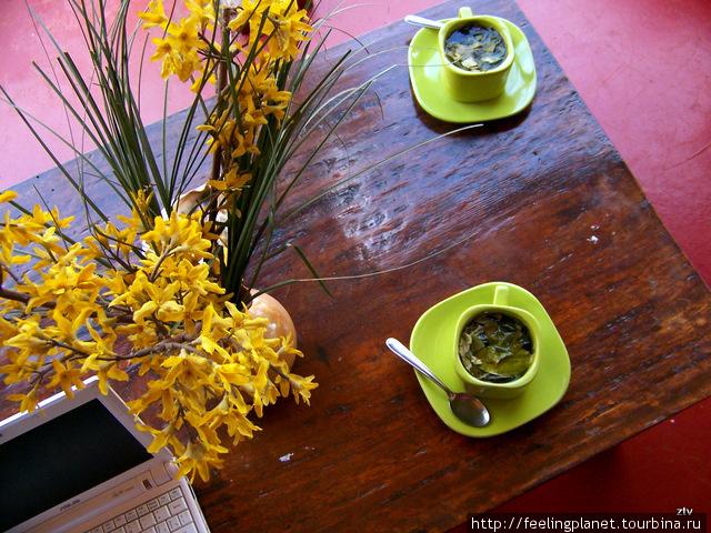 Очень вкусный чай из лист
