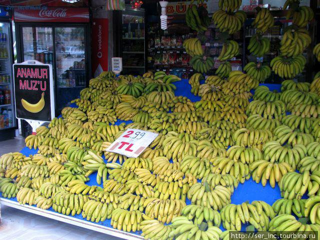 Главный продукт банановой столицы