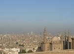 г. Каир, Египет. Вид на Каир и Мечеть Мехмет-Али со смотровой площадки