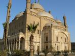 г. Каир, Египет. Мечеть Мехмет-Али в Цитадели. Она построена в османском стиле. Два высоких остроконечных минарета в ясную погоду видны почти из любой точки Каира.