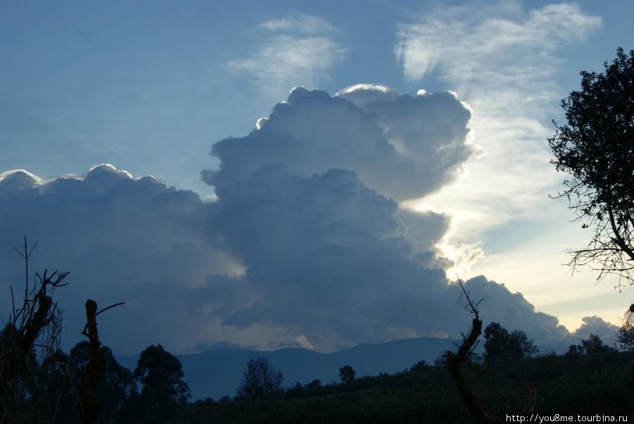Рувензори — повелитель облаков, творец дождя