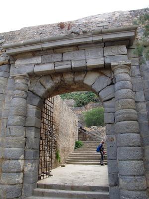 центральные ворота со старого причала