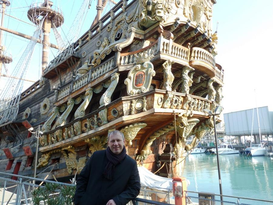В гавани Генуи