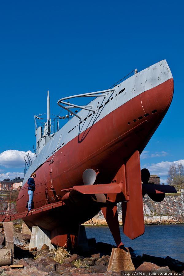 подводная лодка финн